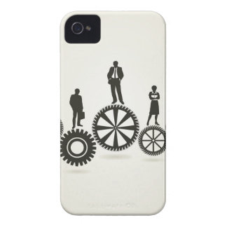 Business a gear wheel Case-Mate iPhone 4 cases