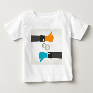 Business a hand baby T-Shirt