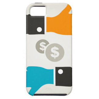 Business a hand iPhone 5 covers