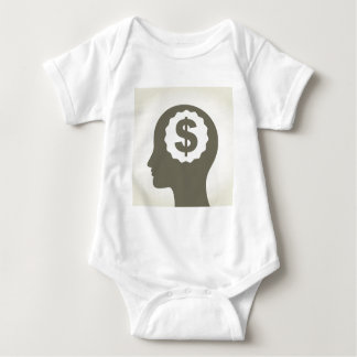 Business a head baby bodysuit