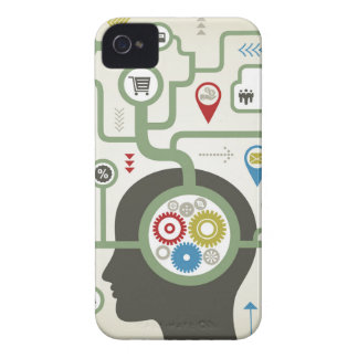 Business a head Case-Mate iPhone 4 case