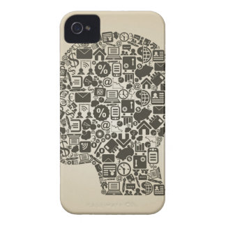 Business a head iPhone 4 cover