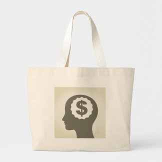 Business a head large tote bag