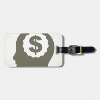 Business a head luggage tag