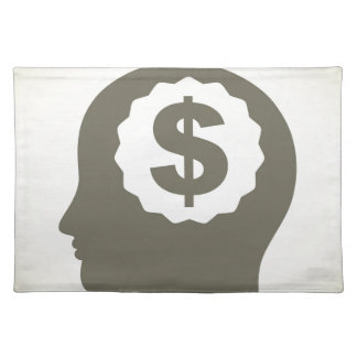 Business a head placemat