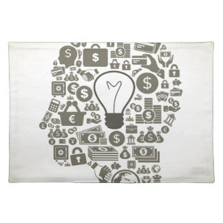 Business a head placemats