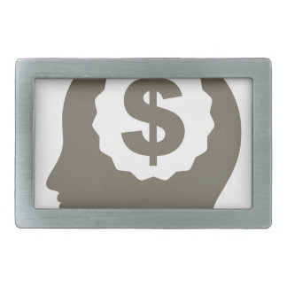 Business a head rectangular belt buckles