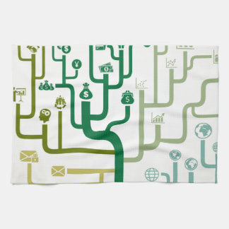 Business a labyrinth kitchen towel