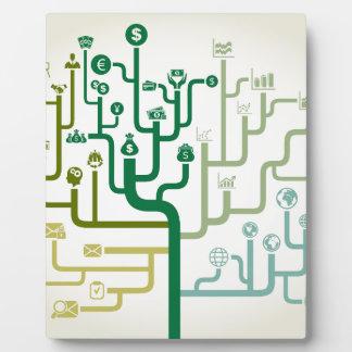Business a labyrinth plaque