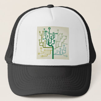 Business a labyrinth trucker hat