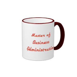 Business Administration Ringer Coffee Mug