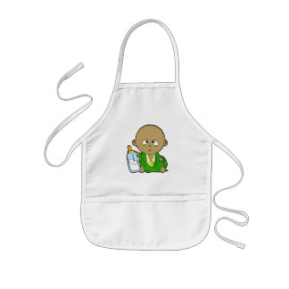 Business Baby Kids Apron