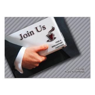 Business Breakfast Meeting Invitations