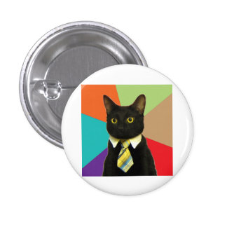 Business Car Advice Animal Meme 1 Inch Round Button
