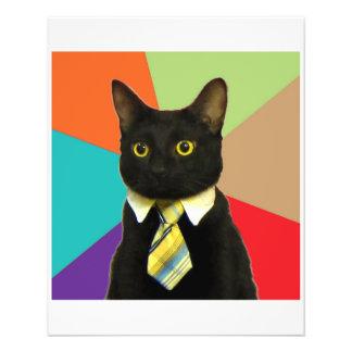 Business Car Advice Animal Meme Flyer Design