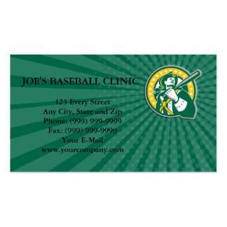 Business card American Patriot Baseball Player Gre