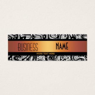 Business Card Australian Wild Gold Black White