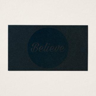Business Card - Believe