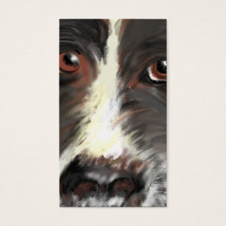 Business Card, Border Collie Rescue Business Card