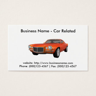 Business Card: Cars / Automotive Business Card