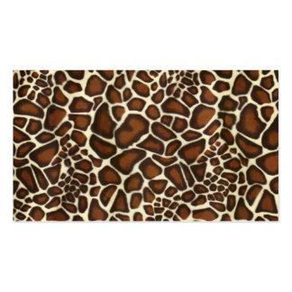 Business Card Cheetah