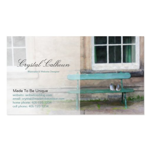Business Card - Counselor, Friendship or Kindness