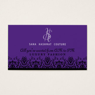 BUSINESS CARD :: elaborately fine L11