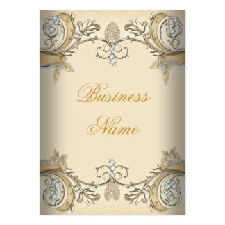 Business Card Elegant Sepia Coffee Gold