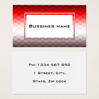 Business Card facet