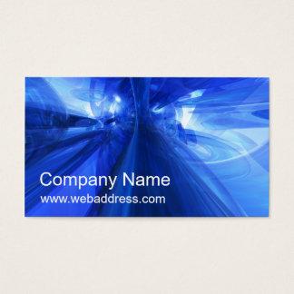 Business Card: Fantastic Blue Business Card