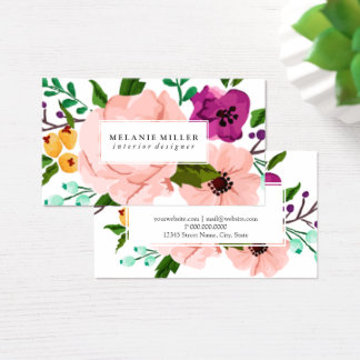 Business Card - Florally