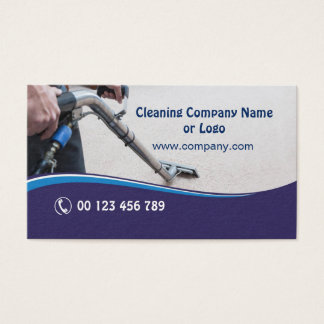 Business card for Carpet Cleaning Company