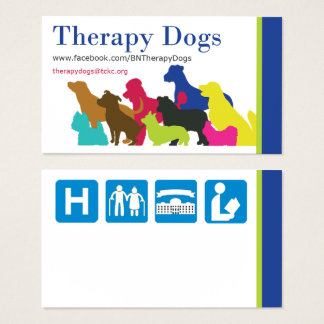 [Business Card - General] Therapy Dogs BI
