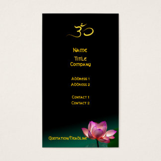 Business card, Healing Hands Business Card