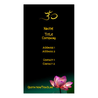 Business card, Healing Hands Pack Of Standard Business Cards