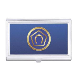 Business Card Holder: Germanna Foundation Logo Business Card Holder