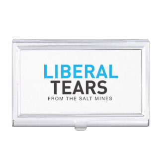 Business Card Holder Liberal Tears logo