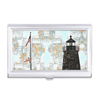Business card holder Lighthouse theme