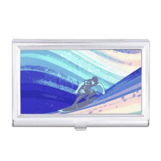 Business Card Holder, Ocean Surfer