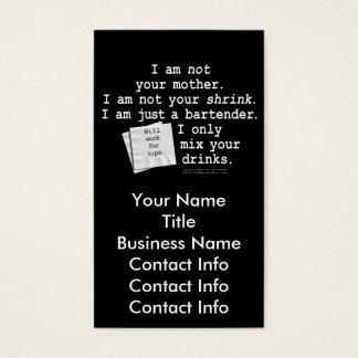 Business Card - I'M A BARTENDER