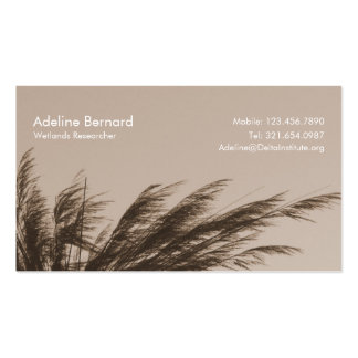 Business card in sepia tone business card