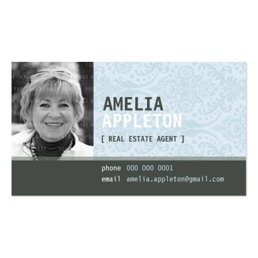 BUSINESS CARD :: jazzy photo 23L