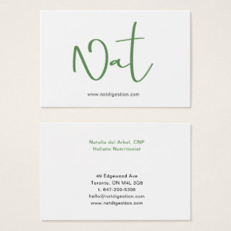 Business card Kale