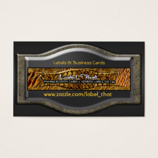 Business Card Label_That Private