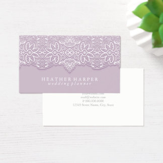 Business Card - Laced Lavender