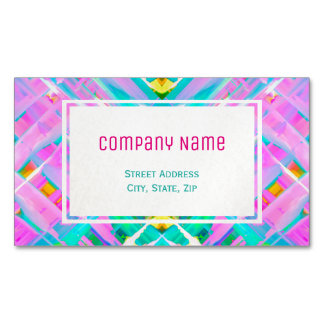 Business Card Magnet Colorful digital art G473