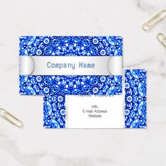 Business Card Mandala Mehndi Style G403