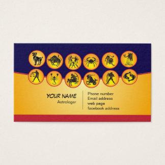 Business card or astrologer