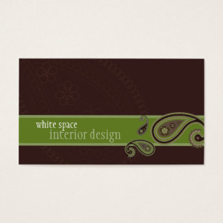 BUSINESS CARD :: paisley 2