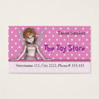 Business Card Polkadot Fairy
